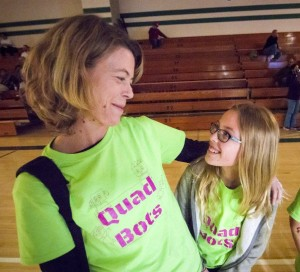 Each team needs one or two parents (or other adult volunteers) to coach