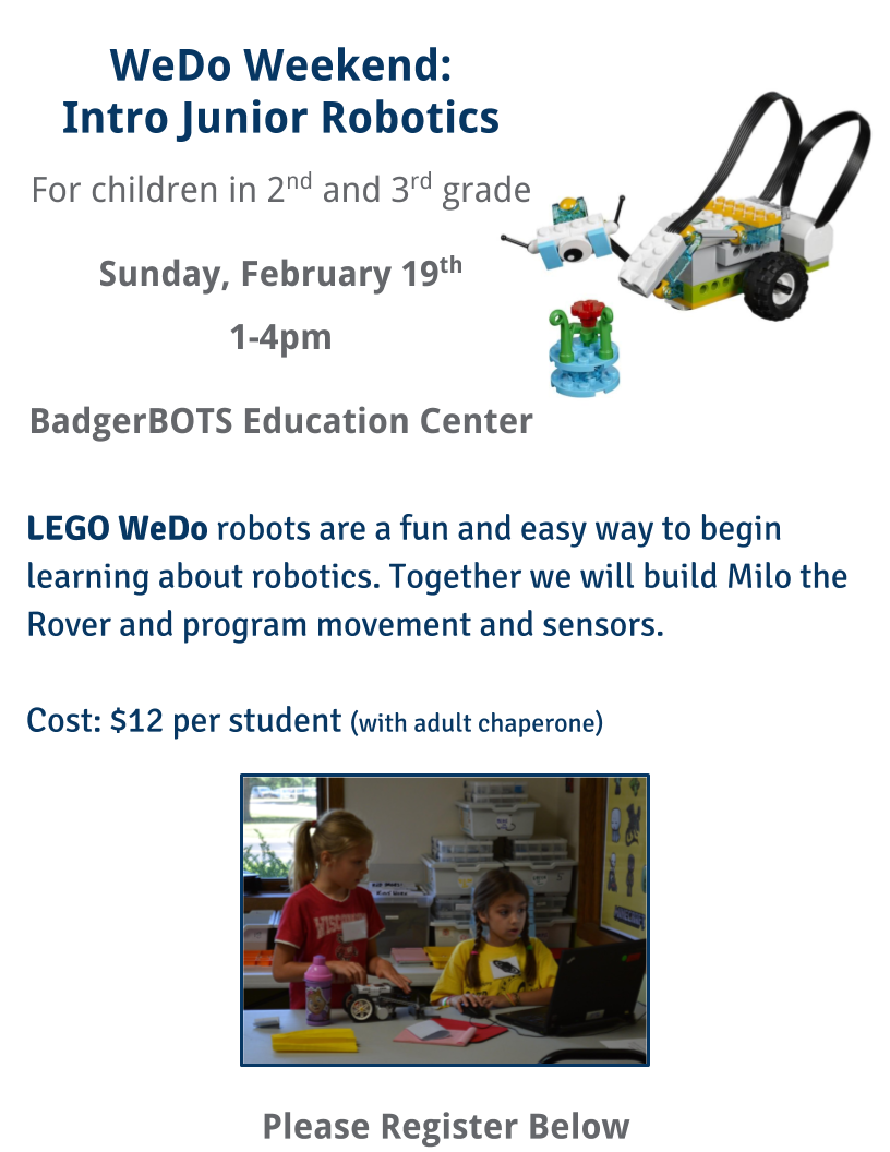 WeDo Weekend 2.19.17 website